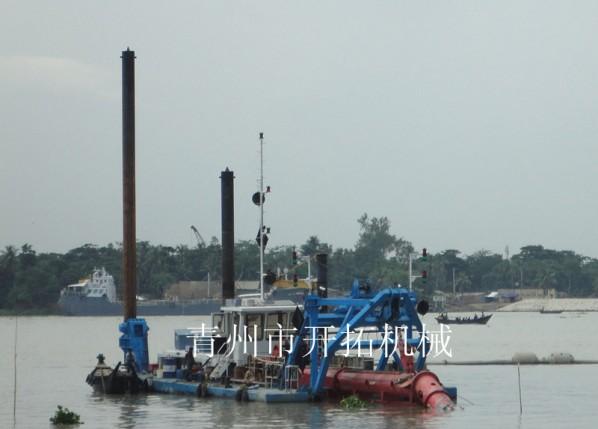 出口孟加拉挖泥船
